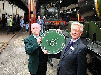 The Engine Shed Society plaque
