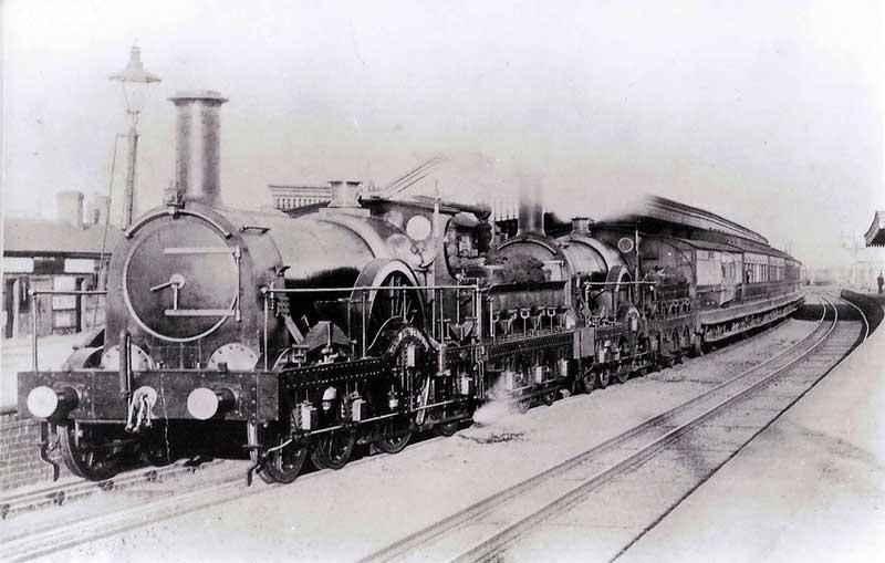 Didcot Station in 1892