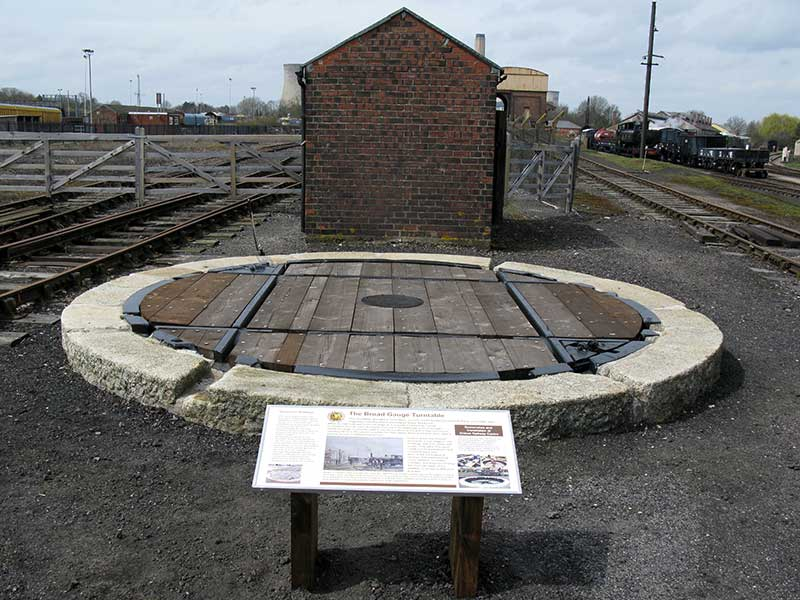 Broad Gauge Turntable