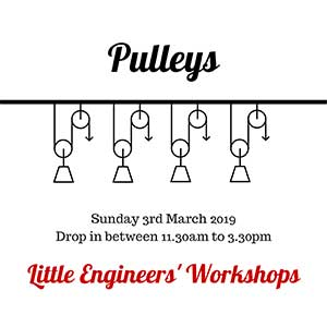 Little Engineers' Workshop - Pulleys